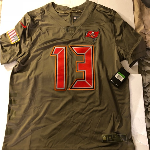 promo code 10544 54d97 mike evans salute to service jersey